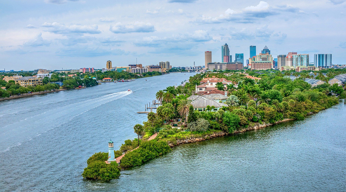 Tampa Bay Harbour Island.