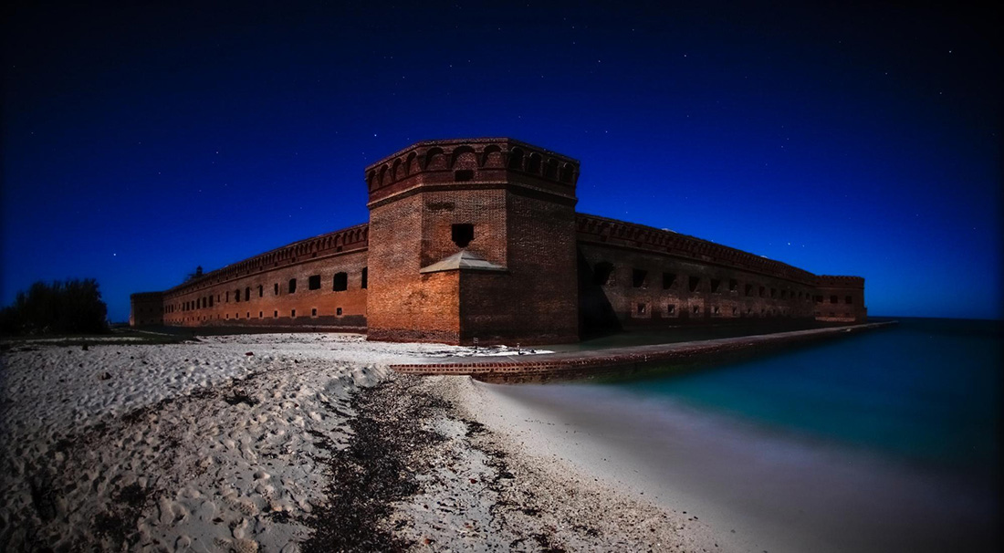 Fortification at Dry Tortugas National Park