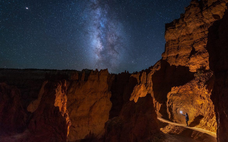 Bryce Canyon, Utah at night