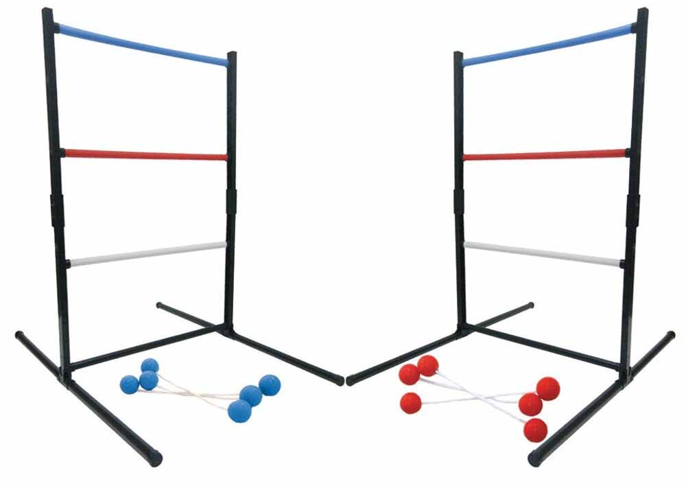 Ladderball Game with playing ropes