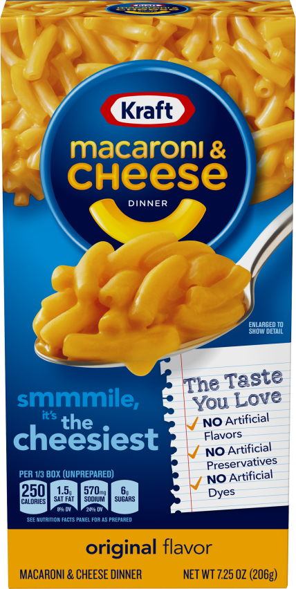 Macaroni and Cheese Packaging
