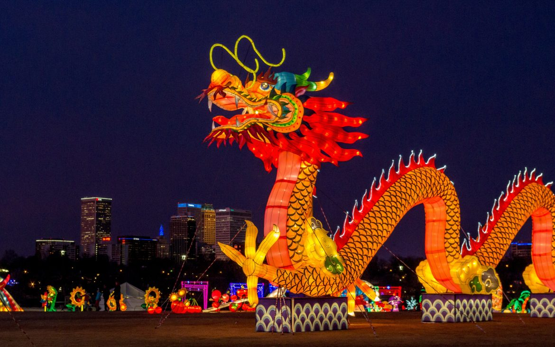 Chinese Lantern Festival, Tulsa, OKlahoma