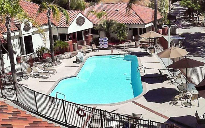RV Park swimming pool