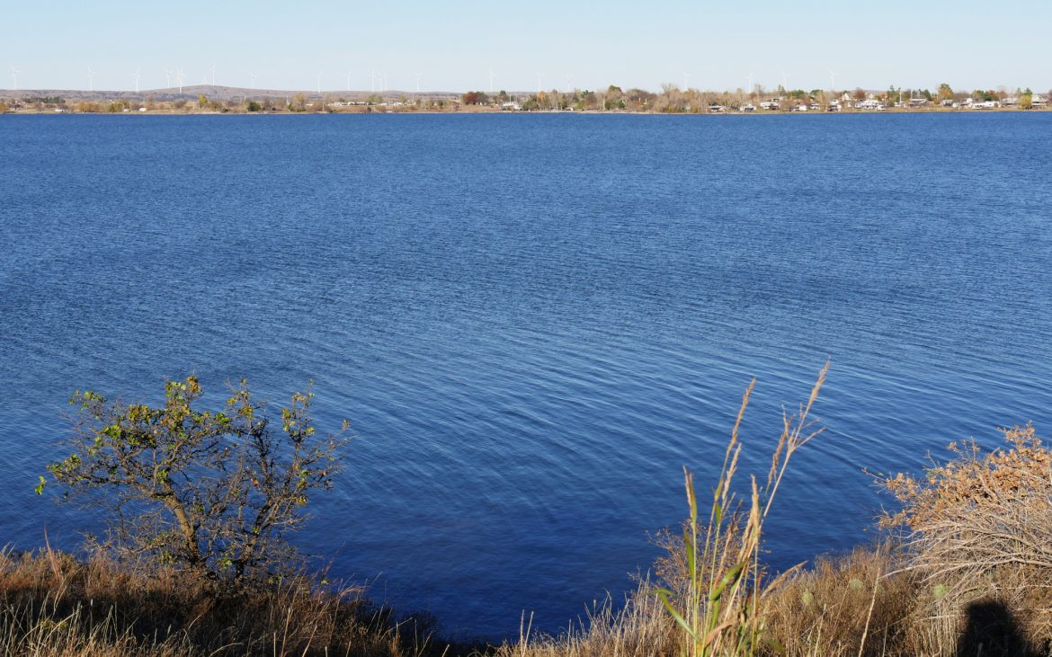 Lake Lawtonka in the Comanche County, Oklahoma