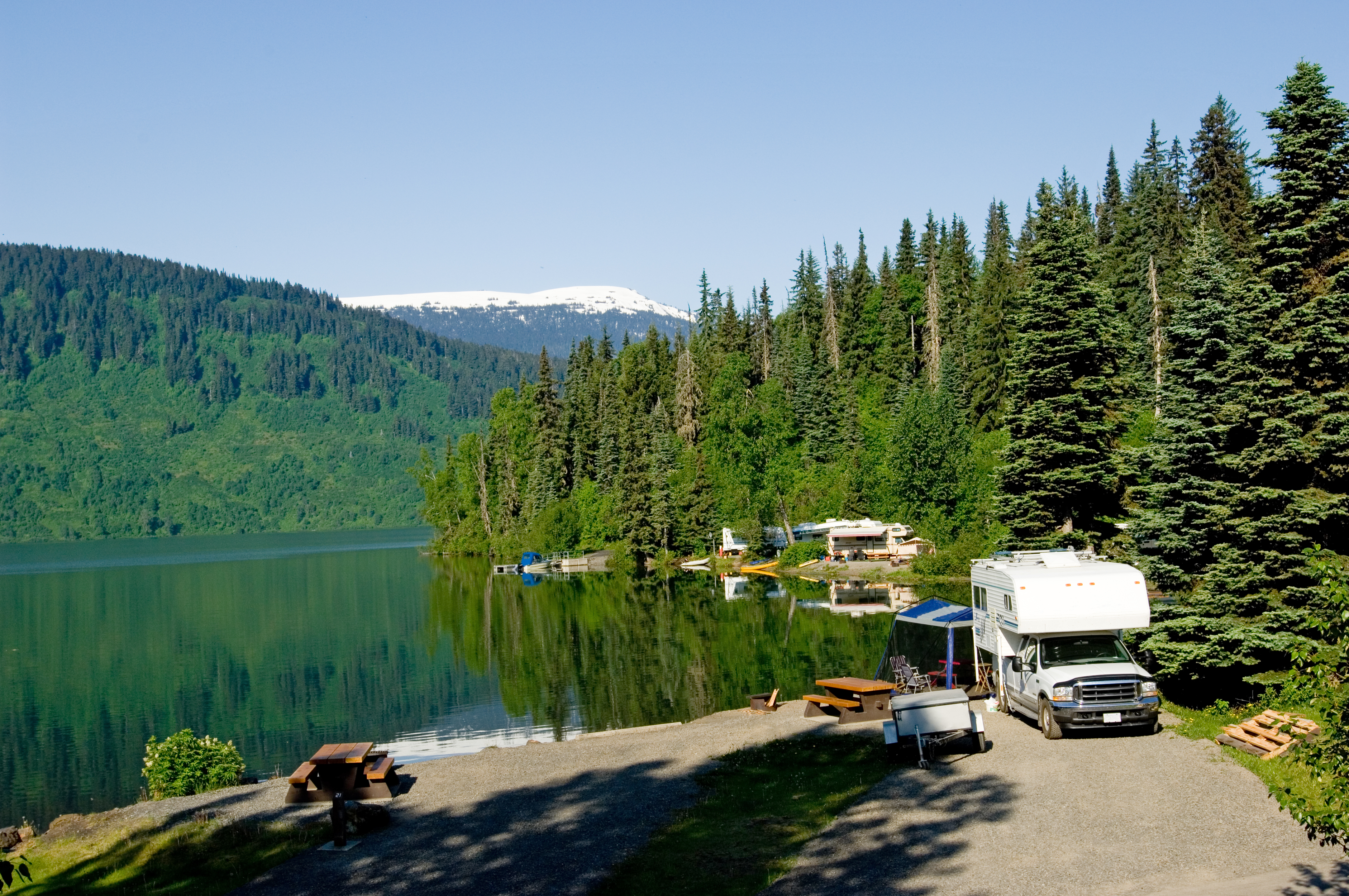 Explore Your region at campgrounds near home.