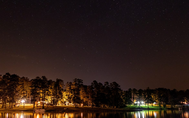 Nighttime at Clarks Hill Lake, Georgia