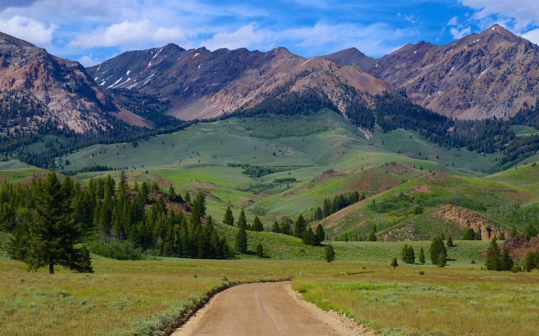 Forest Service Road near Sun Valley, Idaho