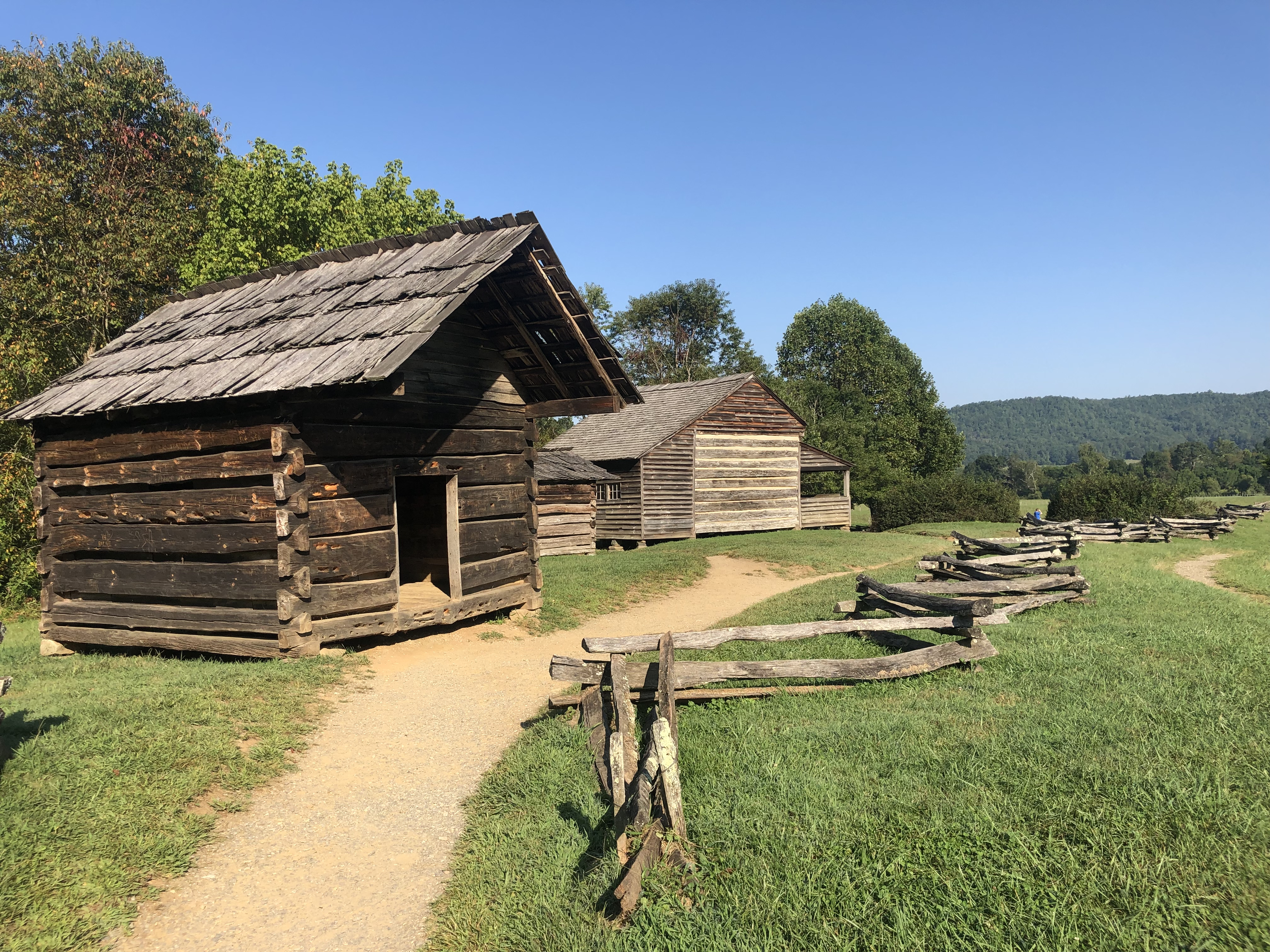 Old homestead in The Great Smoky Mountains National Park