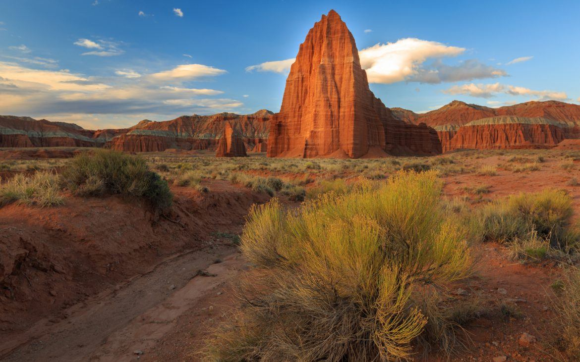 Temple of the Sun, Capitol Reef, Utah