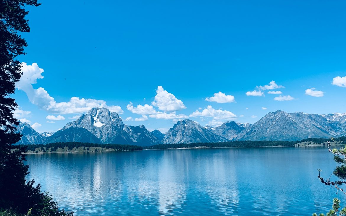 Grand Teton National Park near Jackson, Wyoming