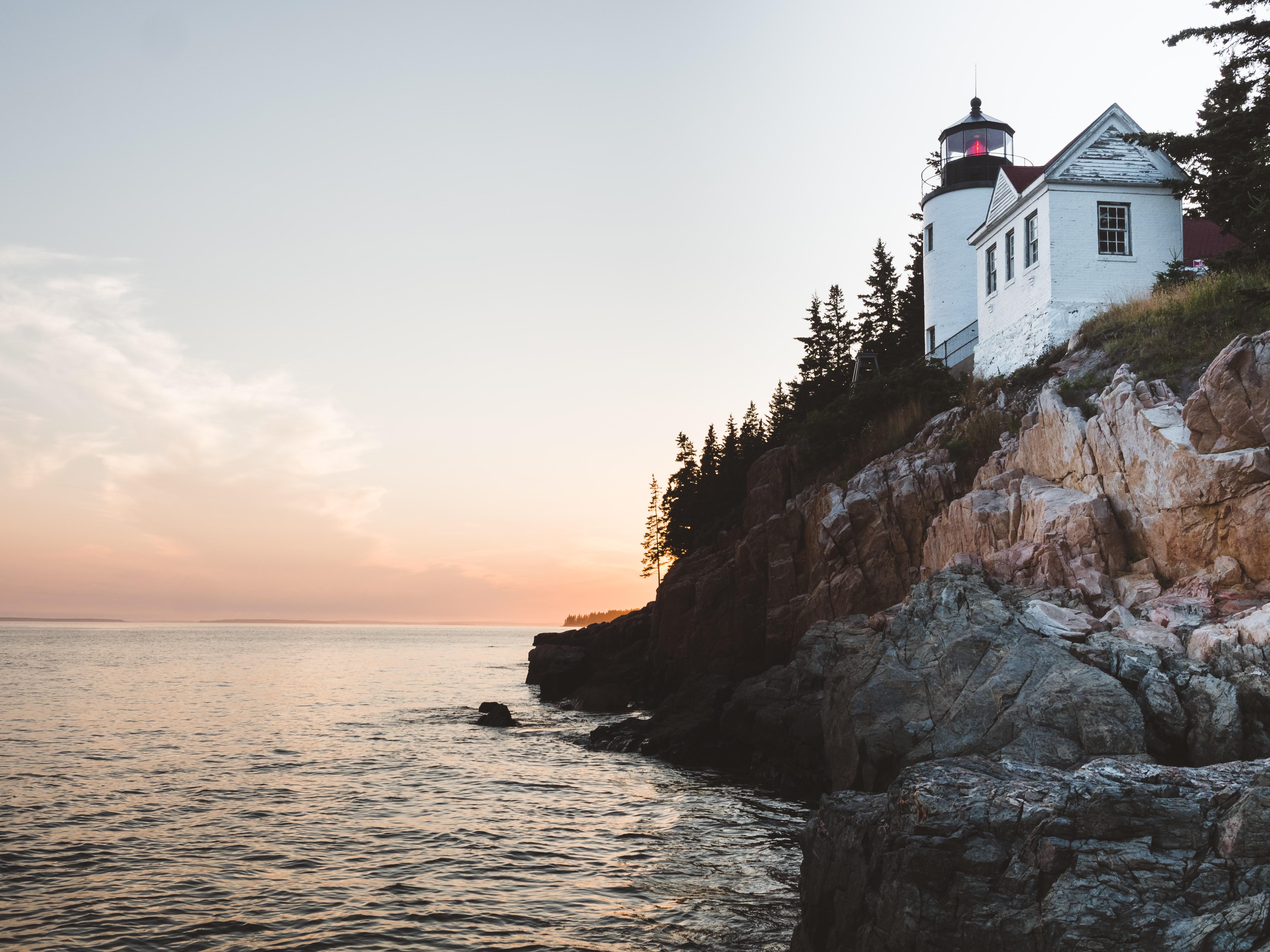 Bass Harbor Head Lighthouse, Bass Harbor, Tremont, Maine