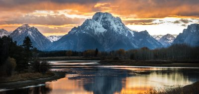 Oxbow Bend, Grand Tetons National Park.