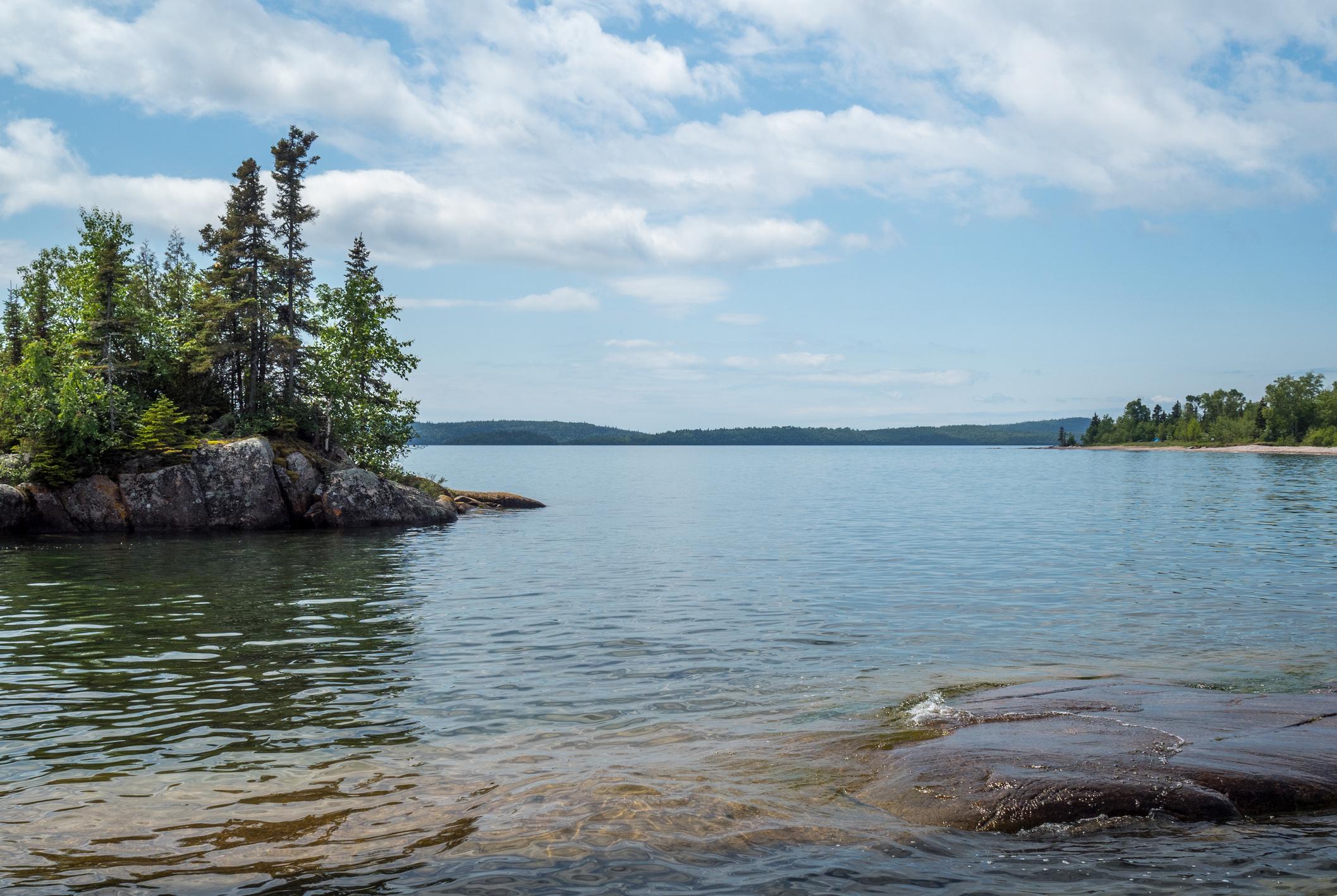 Canada Rugged Rocky North Shore in Canada