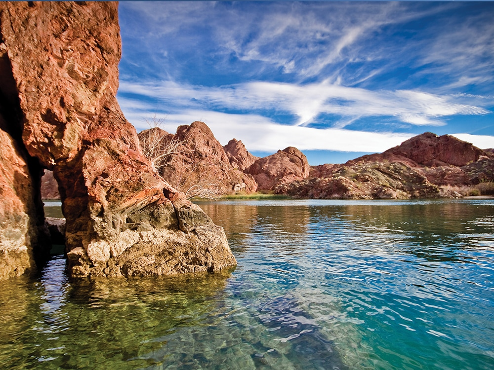 Rugged Colorado River Banks