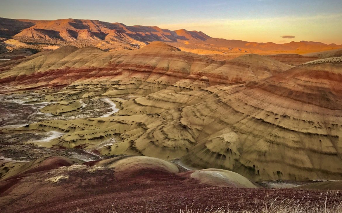 Painted Hills and John Day Fossil Beds in Oregon