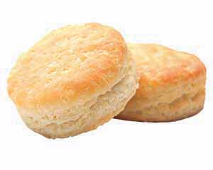 Two delicious-looking biscuits.