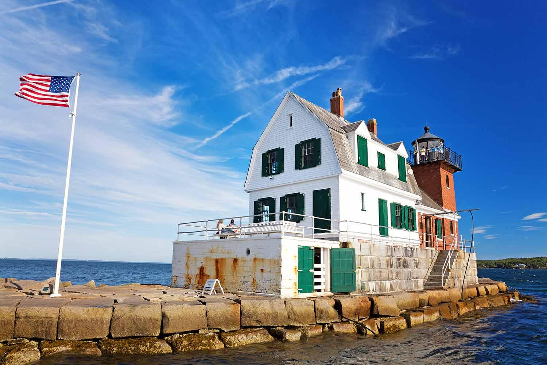 Lighthouse on a jetty