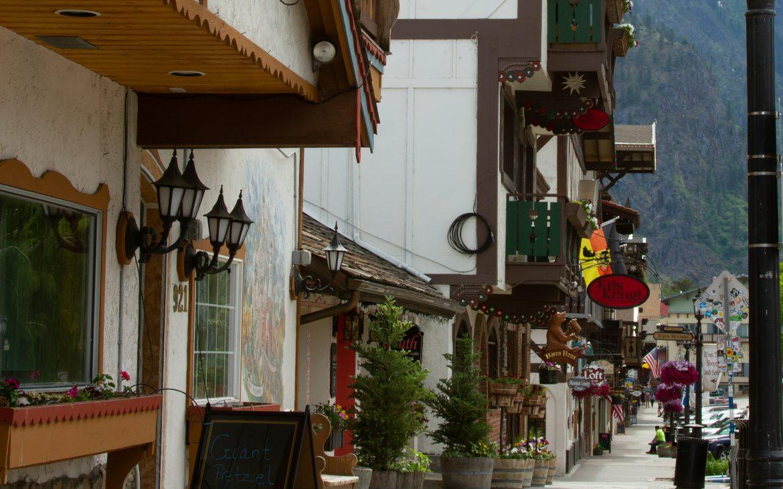 Main Street in Leavenworth, WA