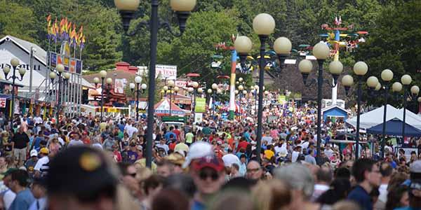 Iowa State Fair Crowd