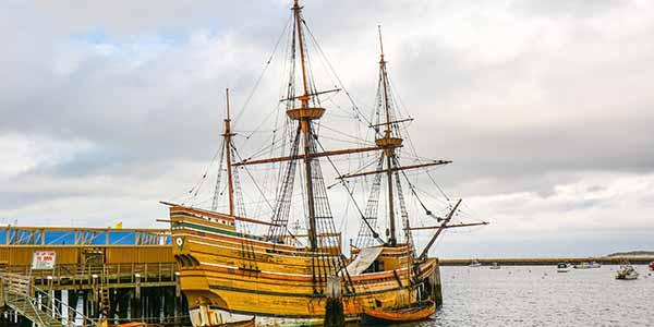 Mayflower II, Replica of Mayflower - Plymouth, MA
