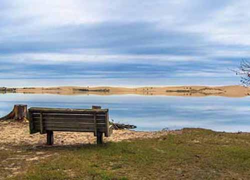 Solitude At Silver Lake State Park