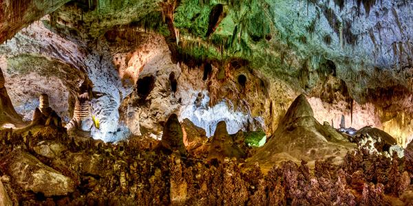 Underground Panorama of Carlsbad Caverns