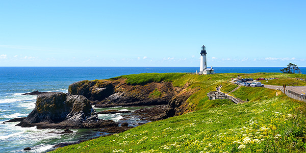 Yaquina Head Lighthouse, Oregon-USA