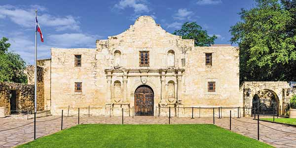 The Alamo in Texas