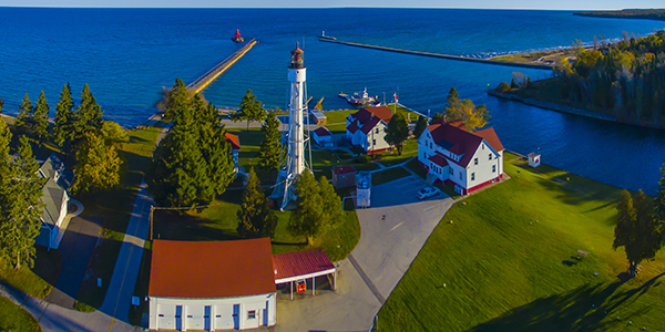 Canal Lighthouse,Sturgeon Point,WI