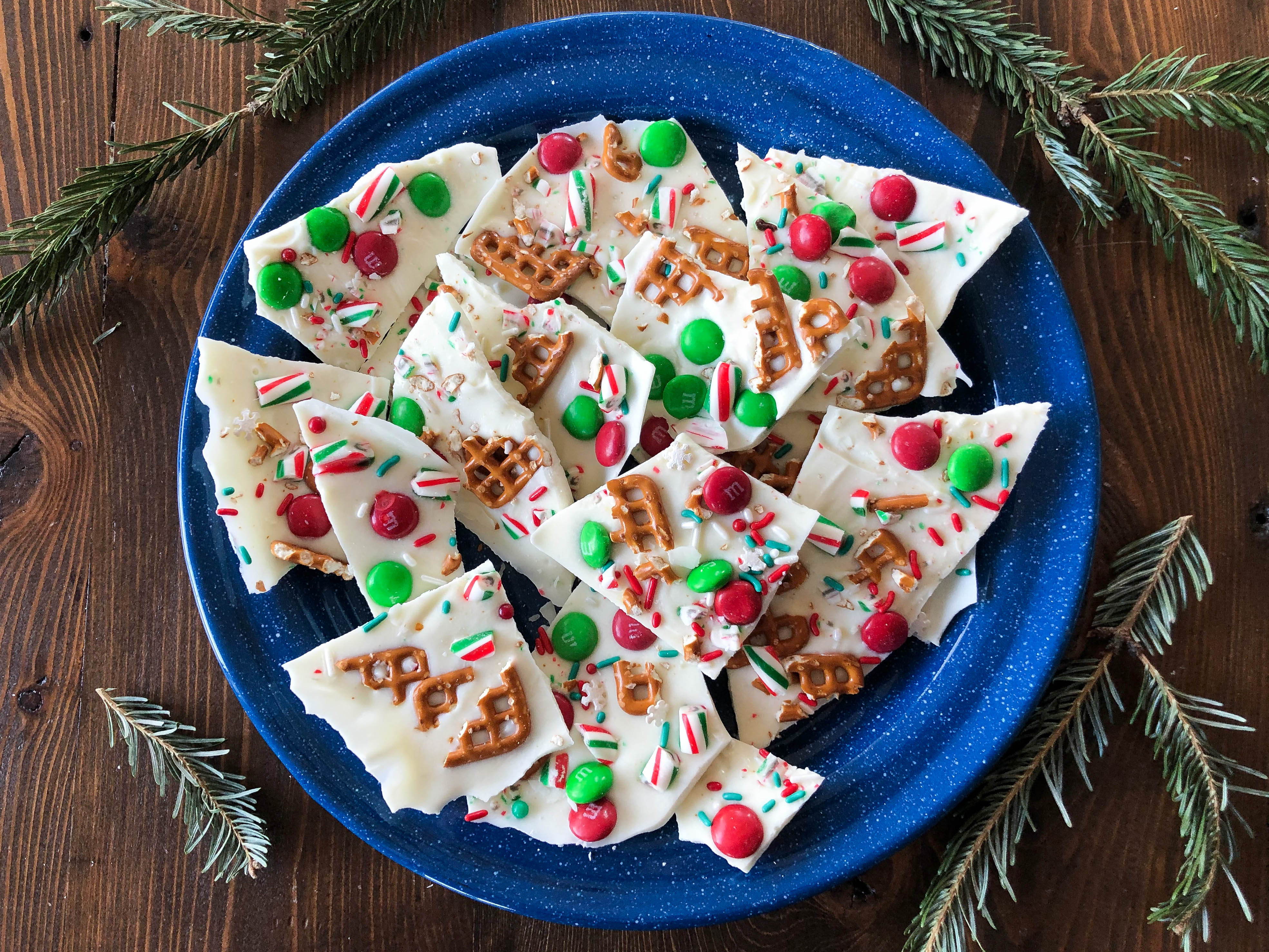Chips of White Bark Candy