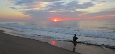 Fishing during sunrise. Good Sam Parks Put Guests in Top Spots