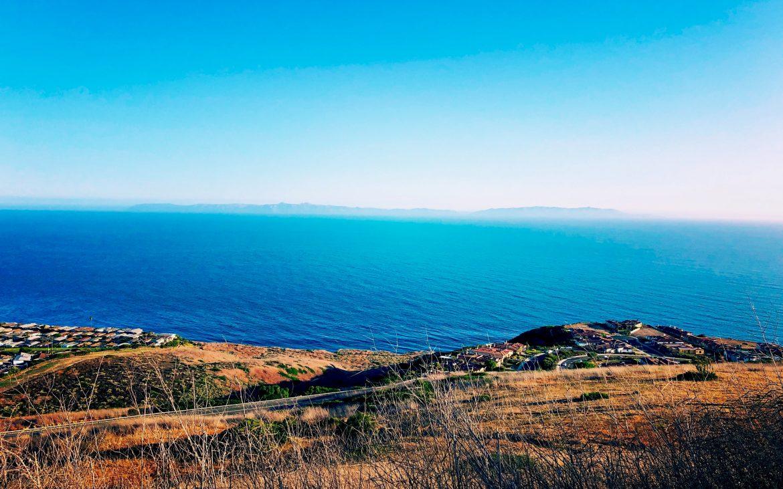 Bright blue waters of Rancho Palos Verdes.