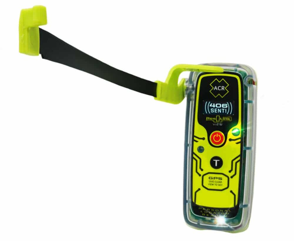 Personal locator beacon with Digital Display