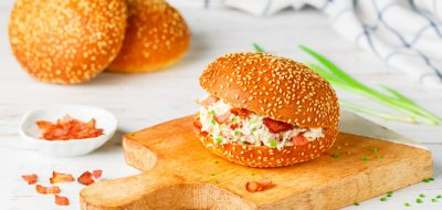 Cook up a super sandwich -- delicious chicken and bacon sandwich