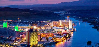 Laughlin is Perfect for Getaways —Colorado River Skyline