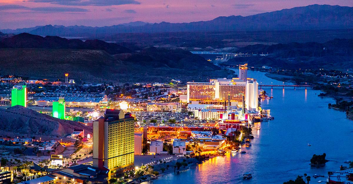 Laughlin is Perfect for Getaways — Colorado River Skyline