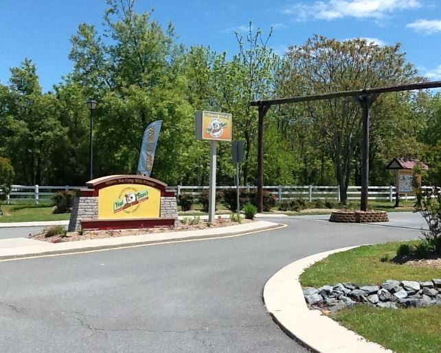 Entrance to an RV park.