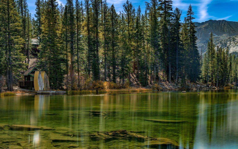 Lake Mary at Mammoth Lakes
