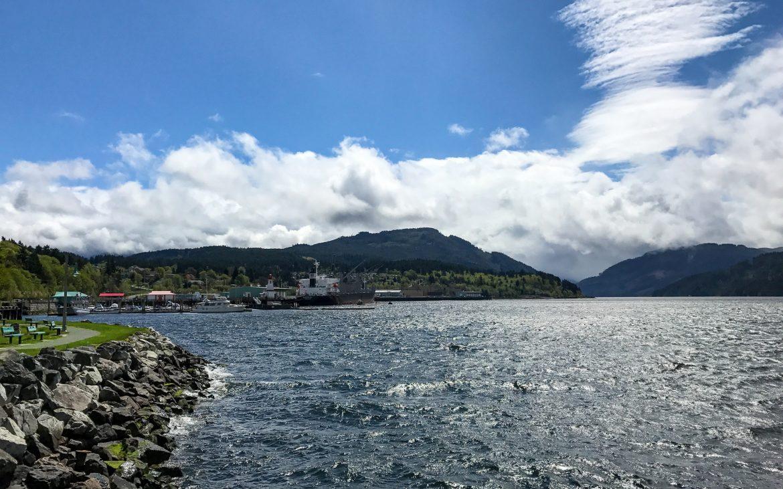 Harbour Quay, Port Alberni, BC, Canada