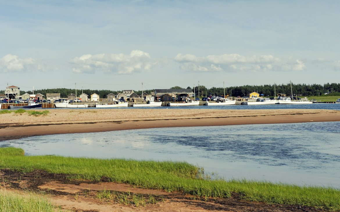 Small harbour at Prince Edward Island National Park