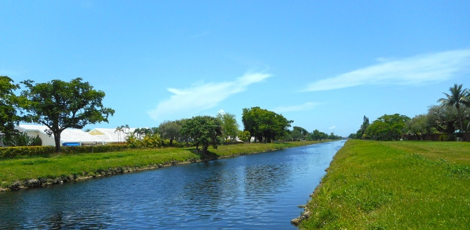 Snapper Creek east of the Florida Turnpike