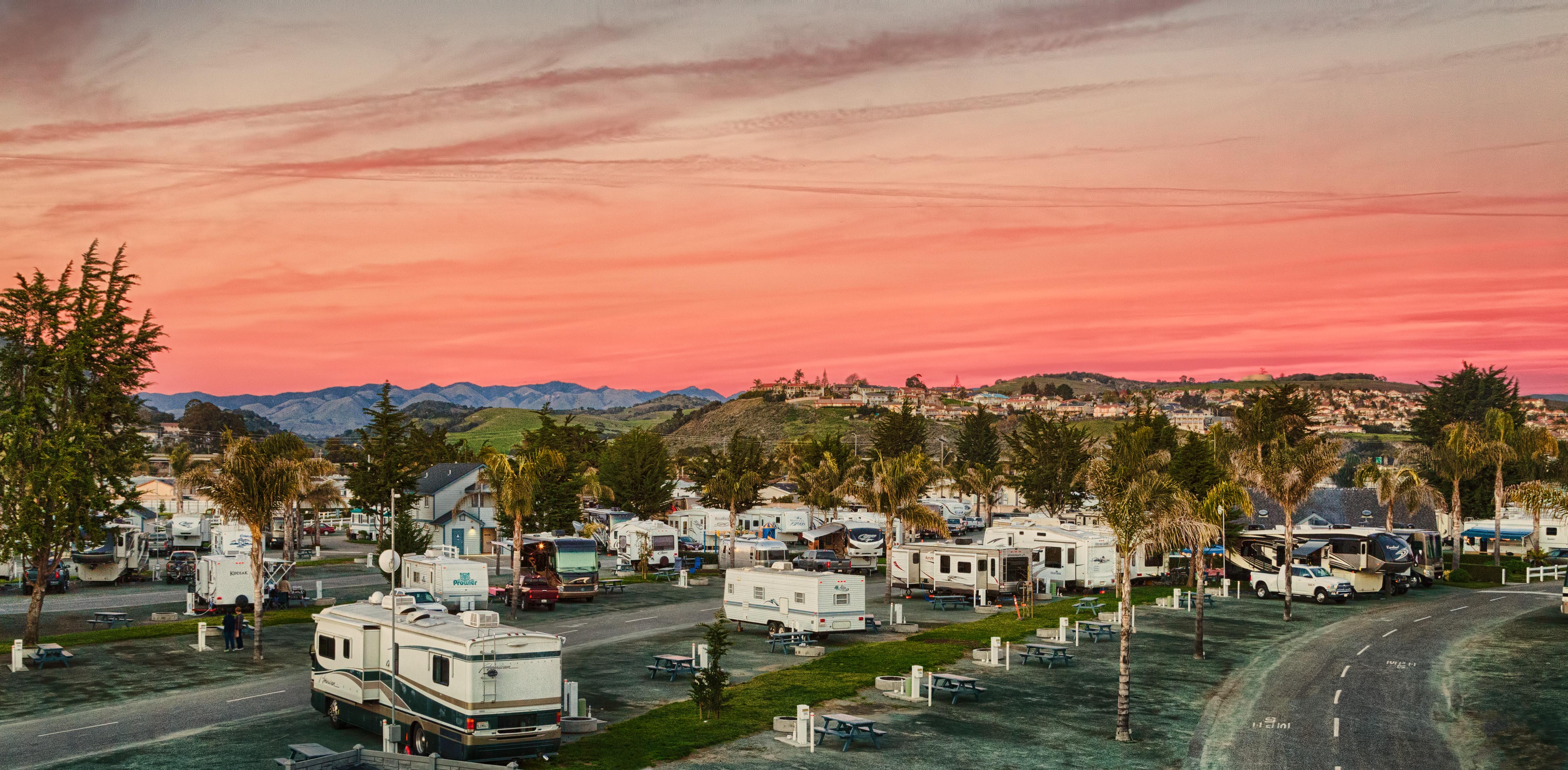RV park in California