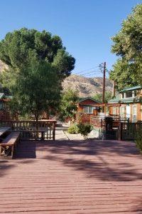 Los Angeles RV Resort — An RV Park under bright sun